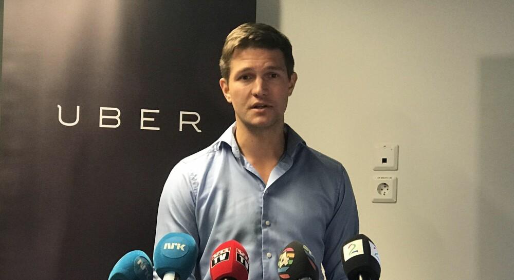 Norges Uber-sjef Carl Edvard Endresen håper nå myndighetene gjør endringer - ellers vil selskapet trekke seg ut av Norge.