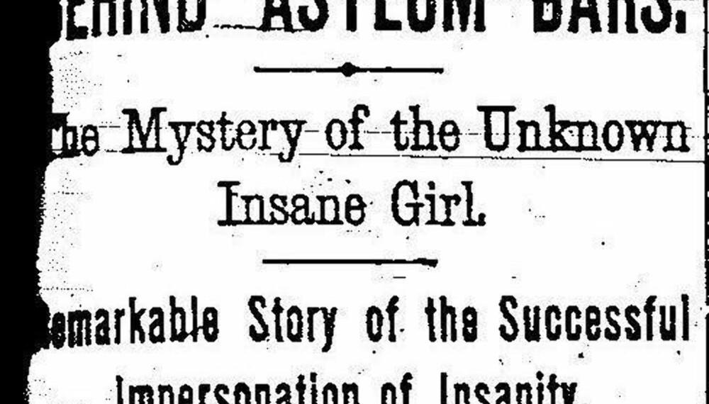 Klikk på bildet for å lese Nellie Blys sensasjonelle artikkel.