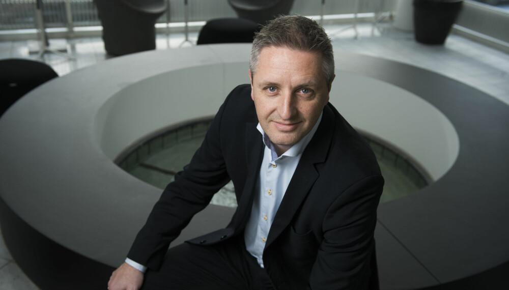 BLOCKBUSTER TIL NORGE: CEO i Blockbuster, Casper Hald, gleder seg til lanseringen av tjenesten i Norge 28. juni 2017.
