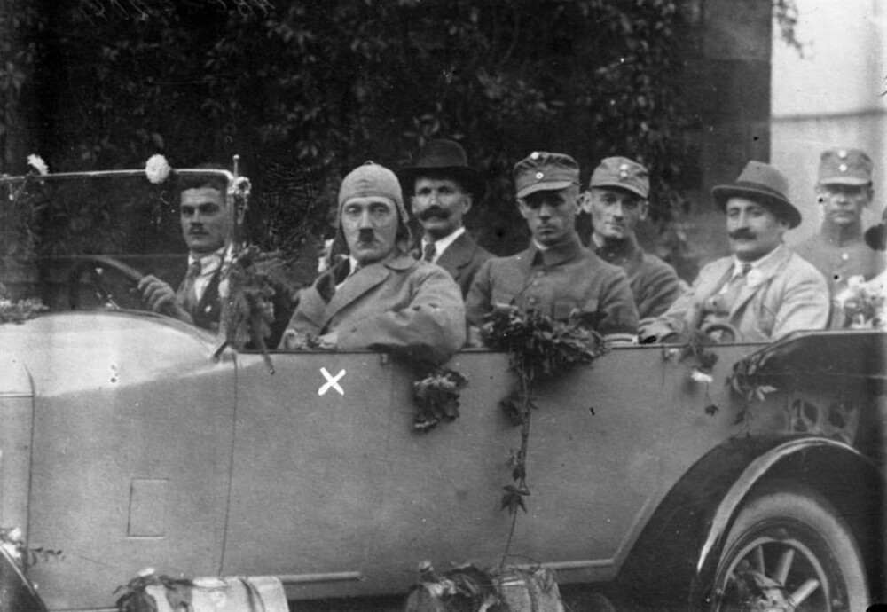 Hitler i Bayern i 1923.