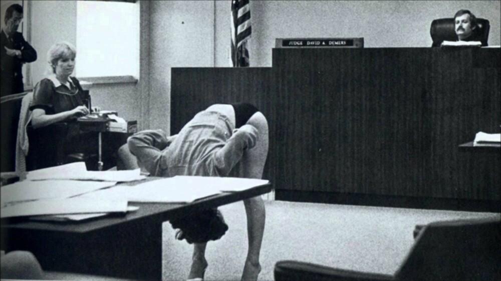FRIKJENT: En eksotisk danser ga en overbevisende fremføring for dommeren, og ble frikjent.