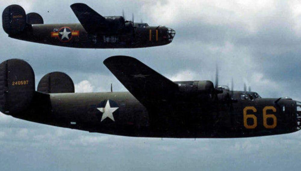 Et slikt fly med 12 tonn sprengstoff skulle sendes inn i bunkeren.