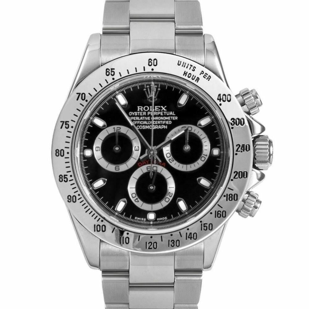 Rolex «Daytona» skal være såpass vanskelig å få tak i at folk er villige til å betale 26.000-27.000 norske kroner over listepris for den.
