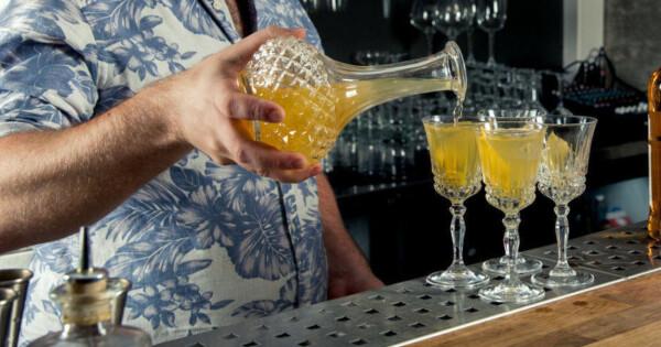 lage drinker hjemme