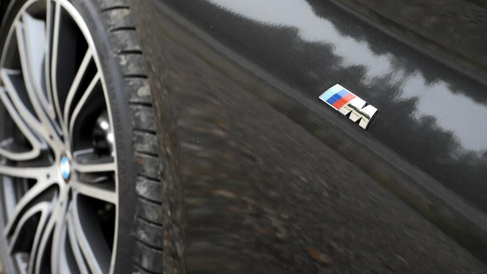 MESTRING: 20-tommere på BMW også, brede som oljetønner. Forskjellen er at 5-serie tåler dem - fjæringskomforten er super, støynivået lavt nok.