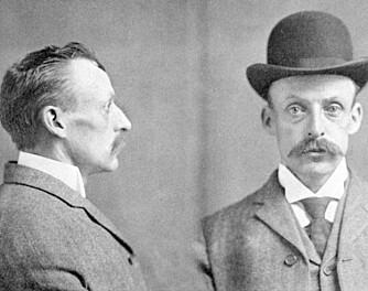 ARRESTERT: Politibilde av Albert Fish fra 1903.