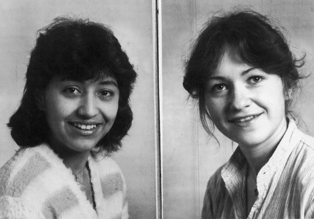 Berlin Mars 1982. De to norske jentene Carmen Puertas og Elin Mosvold drept etter besøk på diskoteket Quasimondo. Fredi Rudnik ble senere tiltalt for disse to pluss nok et drap. FOTO: politiet / NTB scanpix