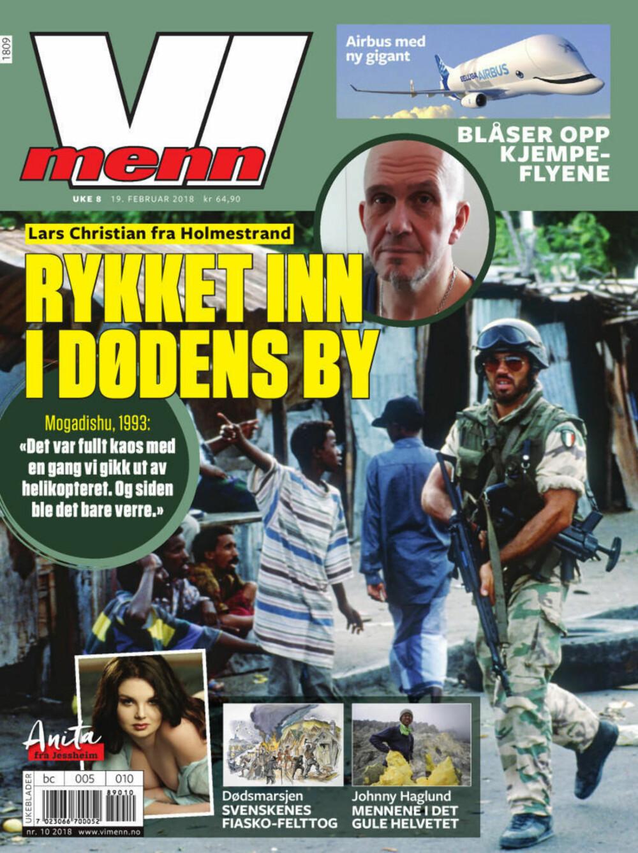 BLI ABONNENT: Klikk på bladet og få 15 utgaver av Vi Menn og kaffekopp fra Cirkle K for 498 kroner.