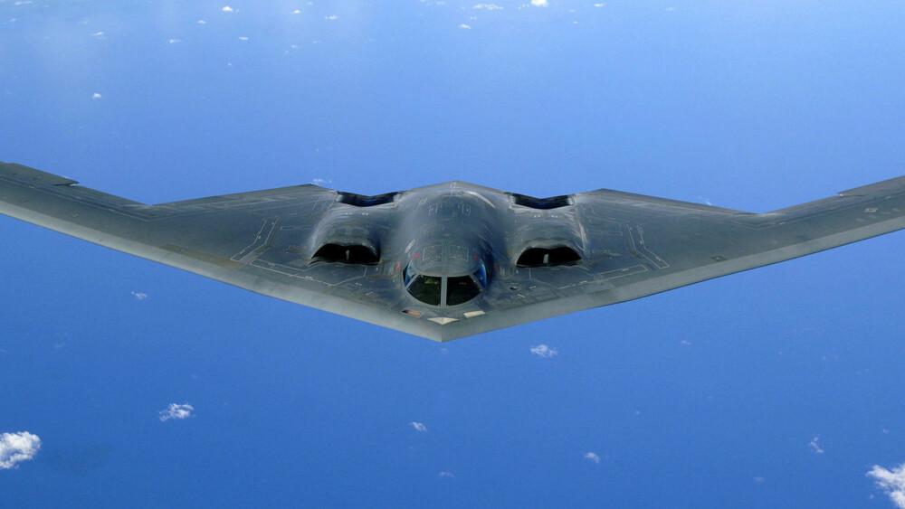 <b>B-2 SPIRIT:</b> USAs bombefly B-2 Spirit bygges av Northrop Grumman. Nå skal Kina være i ferd med å utvikle et tilsvarende, men oppdatert bombefly.