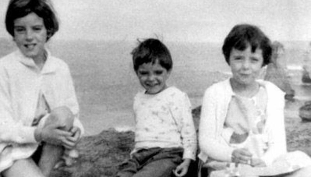BORTE: Jane (til venstre), Grant og Arnna Beaumont forsvant etter en dag på stranden. 50 år etter er saken fortsatt ikke oppklart.