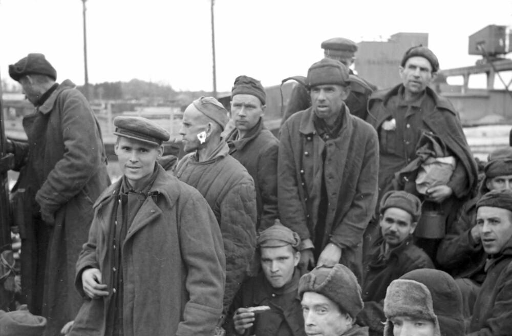 FRIGJORT: De sovjetiske krigsfangene trodde de var kommet til paradiset de ble fraktet i land etter krigens slutt.