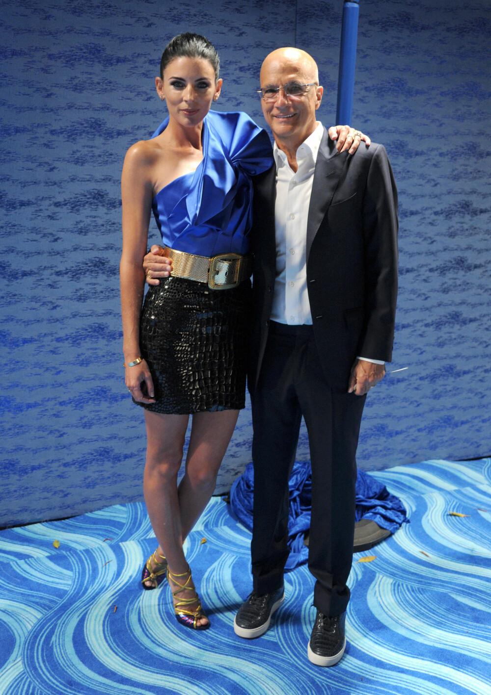JIMMY IOVINE: Legendarisk produsent og Apple Music-sjef Jimmy Iovine sammen med kona, skuespiller og modell Liberty Ross.