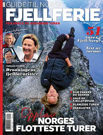 <b>TURTIPS: </b>Guiden til Romsdalseggen er hentet fra magasinet Villmarkslivs spesialutgivelse «Guide til norsk fjellferie». Her finner du haugevis av gode tips til turer, inspirasjon, pakkeguider og utstyr.