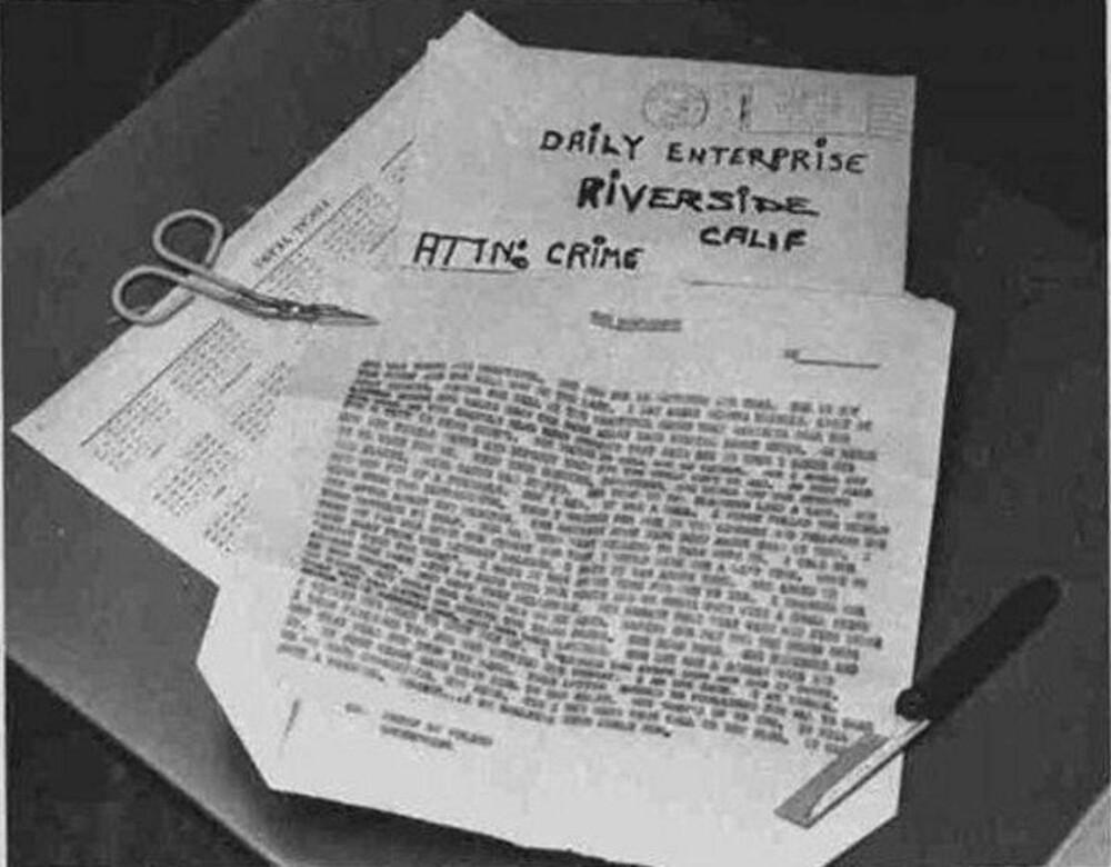 KAN ENDELIG AVSLØRES? Politi i Vallejo håper DNA-prøver av brevene Zodiac-morderen sendte til en rekke aviser på 1960-tallet kan avsløre hans identitet.