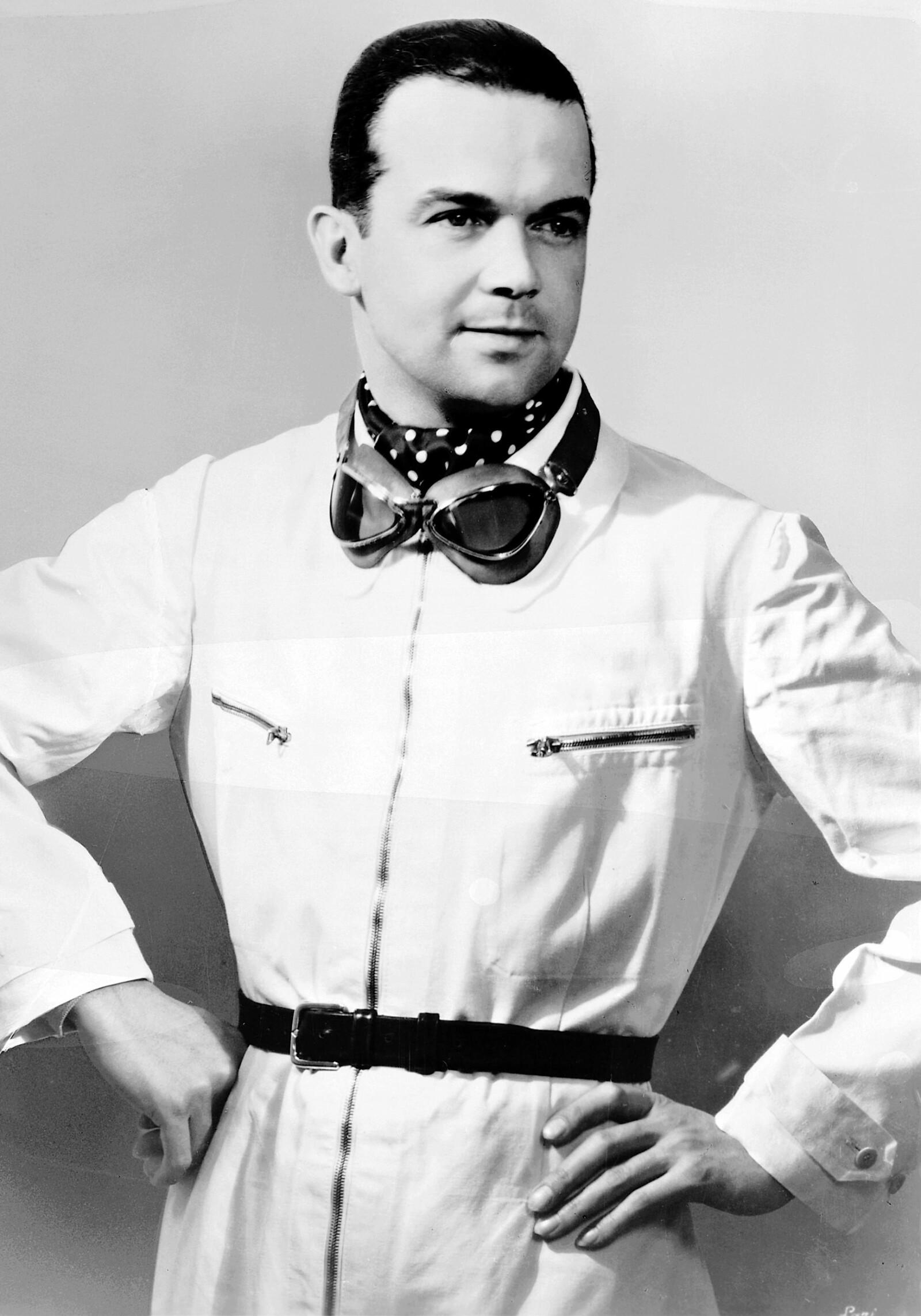 <b>STASKAR: </b>Rudolf Caracciola var tysk, men med italienske forfedre.