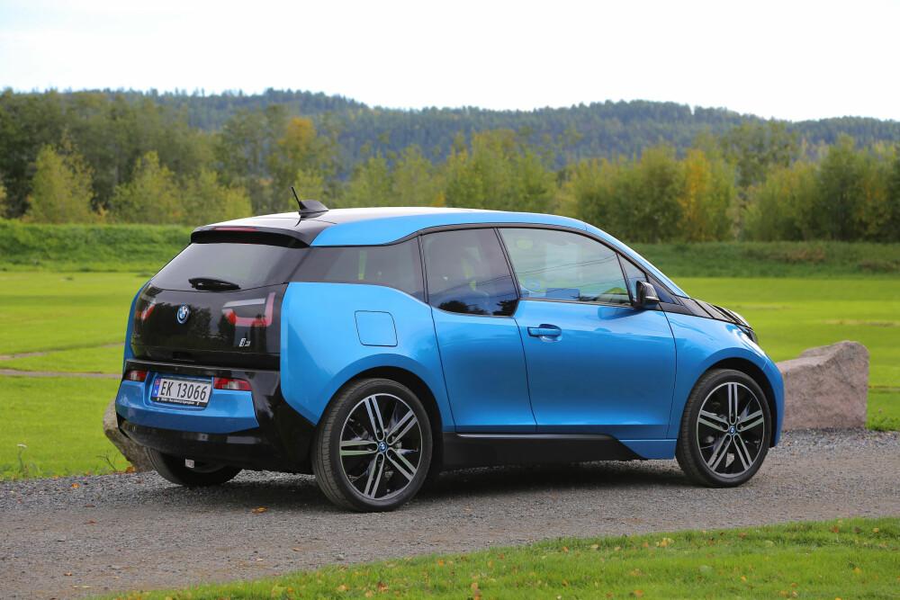 SNOBBET BESTSELGER: Tross sitt særegne konsept har BMW i3 tatt Norge med storm. Også her i underkant av 300 bruktbiler og priser fra ca. 180 til 340 000 kroner.