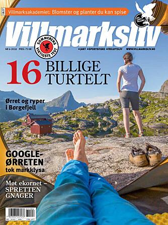 <b>BLI ABONNENT:</b> Artikkelen er hentet fra bladet Villmarksliv.