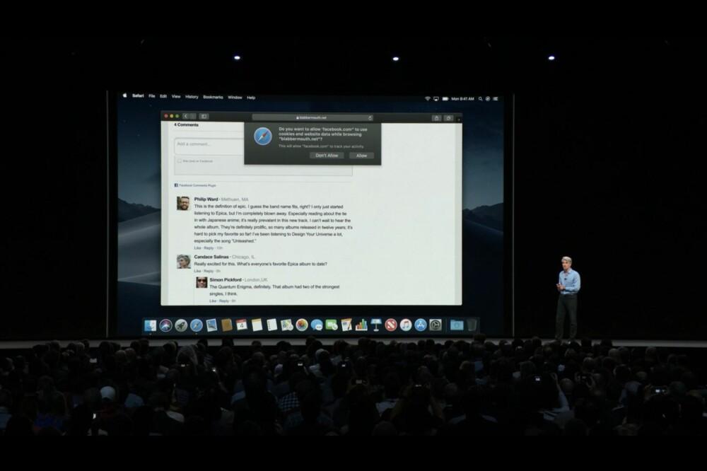 """OPPS: Drepte Apple akkurat Facebook? Ved å blokkere """"Lik og del""""-knapper gjør Apple det vanskeligere å spore en bruker på tvers av ulike nettsteder."""