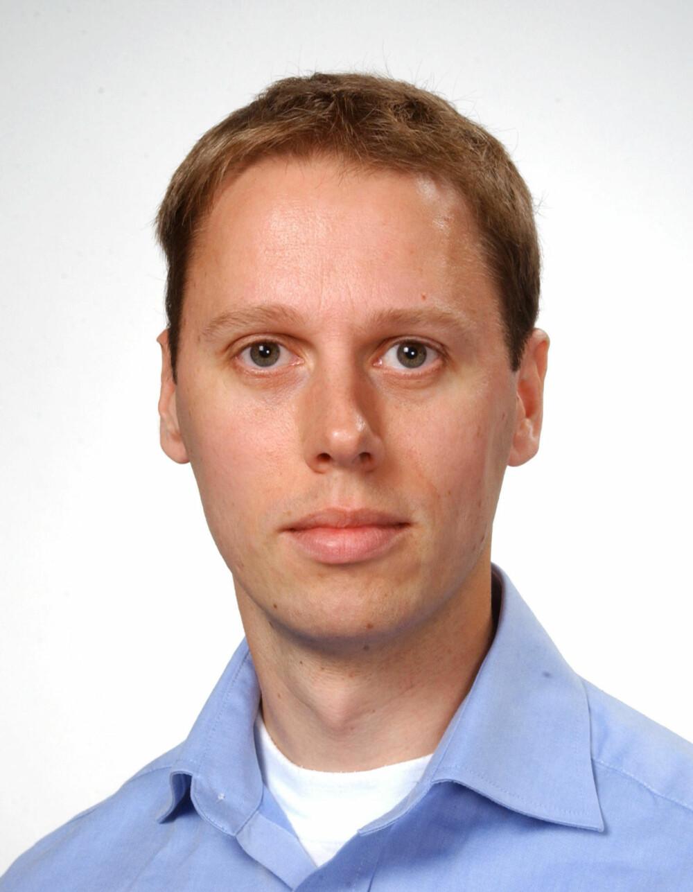 FORSKER: Morten Hansbø er forsker ved FFI. Han har robotikk og kunstig intelligens som spesialfelt.