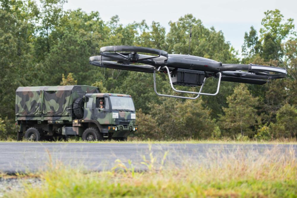 FREMTIDEN: Droner med kunstig intelligens vil være uunnværlige verktøy i fremtidens kriger.