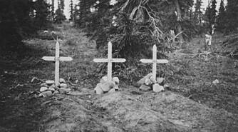 LIVET PÅ SPILL: Noen satte livet til i den kanadiske villmarka. Briten John Hornby døde av sult ved Thelon River vinteren 1927, sammen med to yngre landsmenn. Hjalmar Dale passerte åstedet for tragedien på sin vei ned elva to år etterpå.