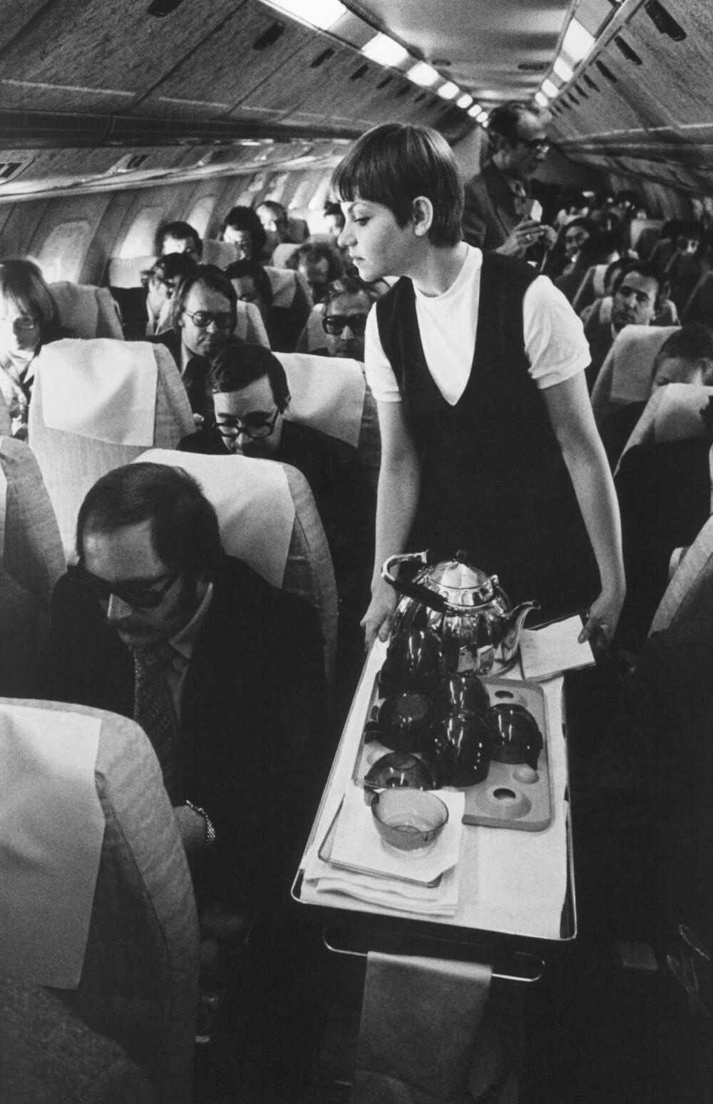 KOMMUNISTLUKSUS: Prototypen blir vist frem for publikum første gang i 1969. Billettene var billige, men ikke lette å få tak i.