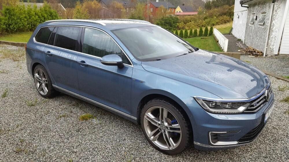HYBRIDEN: VW Passat GTE selger godt i Norge om dagen, men bilen passet ikke til Svein Andreas sine behov.