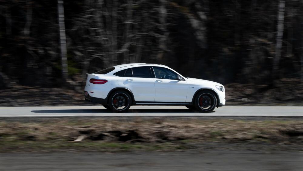 EKSTREMT: 3,8 sekunder for 0-100 km/t er den raskeste akselerasjonen vi har målt. Biler som på papiret har vært enda raskere, har slitt med festet.