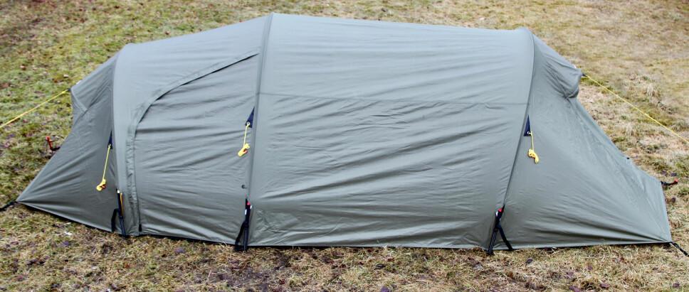 <b>NORDMARKA HIGH 3 CAMP: </b>Helsport, tlf. 24 08 40 00 (XXL), www.xxl.no.