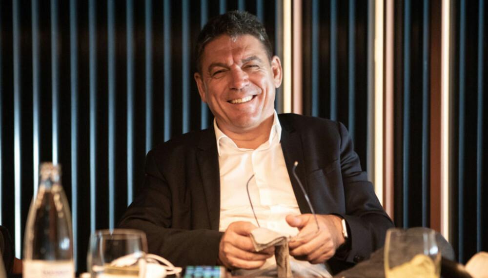 <b>TIDLIGERE BMW-SJEF: </b>Carsten Breitfeld kommer fra BMW og snakker med stor selvtillit om Byton. 3. september overtok han som sjef i Faraday Future.