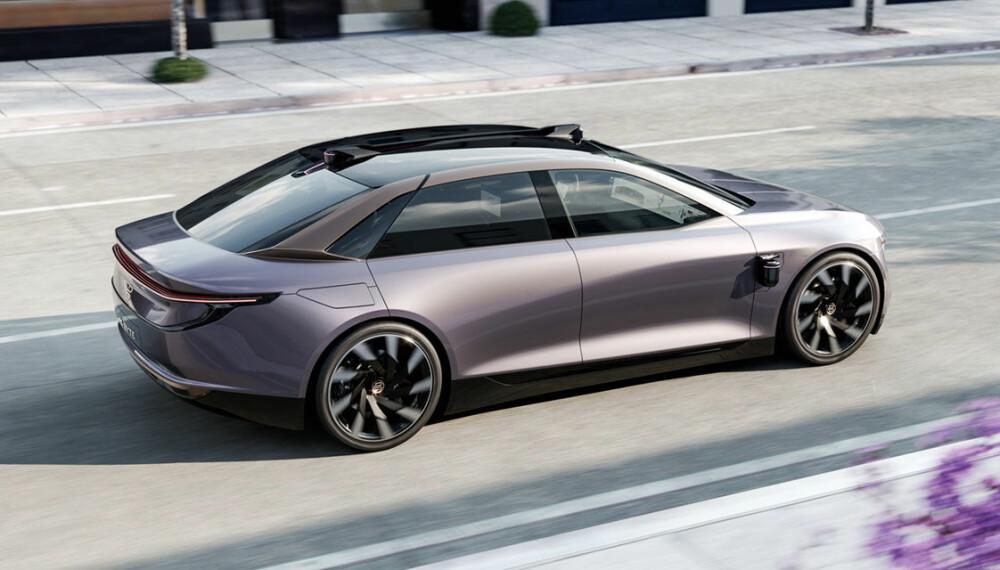 <b>BYTON K-BYTE:</b> Byton har mer på gang. De skal bygge tre biler på samme plattformen. Denne heter K-Byte, pluss en syvseters familiebil.