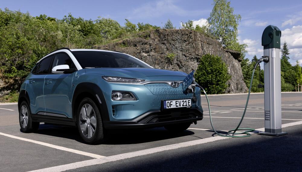 <b>LANG REKKEVIDDE: </b>Kona Electric skal ha en rekkevidde på 482 kilometer.