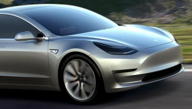 Model 3 kommer til Norge neste år.