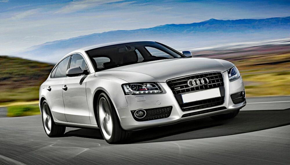 Audi A5 både var og er en bil mange drømmer om. Ikke alle drømmer ender like godt ...