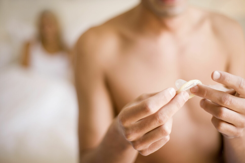 TIL ENGANGSBRUK: Til dere som lurte - kondomer skal ikke, under noen omstendigheter, brukes om igjen.