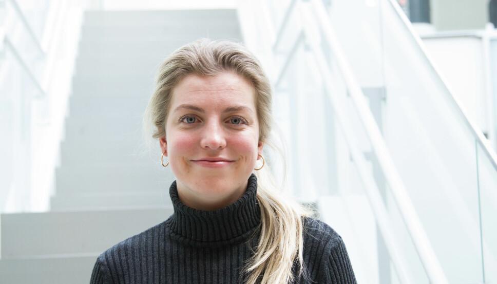 Stine Solli, sykepleier hos Sex og samfunn.