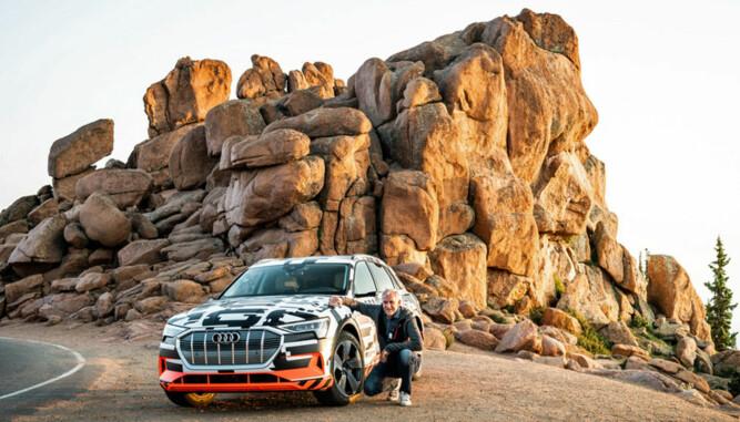 Broom-Benny har som en av de aller første i hele verden vært på tur i Audis nye elbil e-tron quattro.