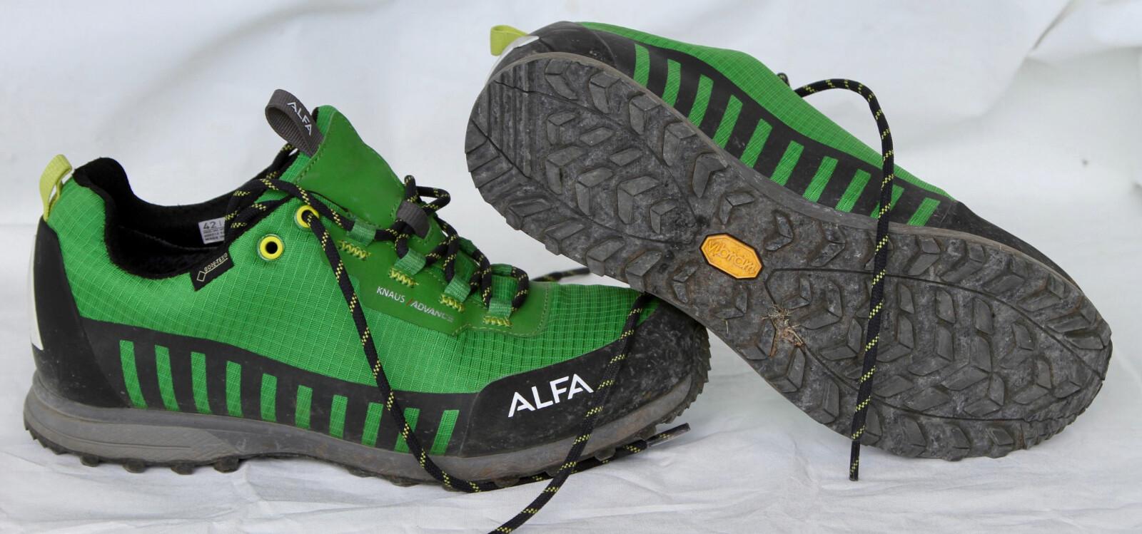 <b>ALFA KNAUS ADVANCE GTX:</b> Et godt valg når en joggesko blir for spinkel, viser vår test.