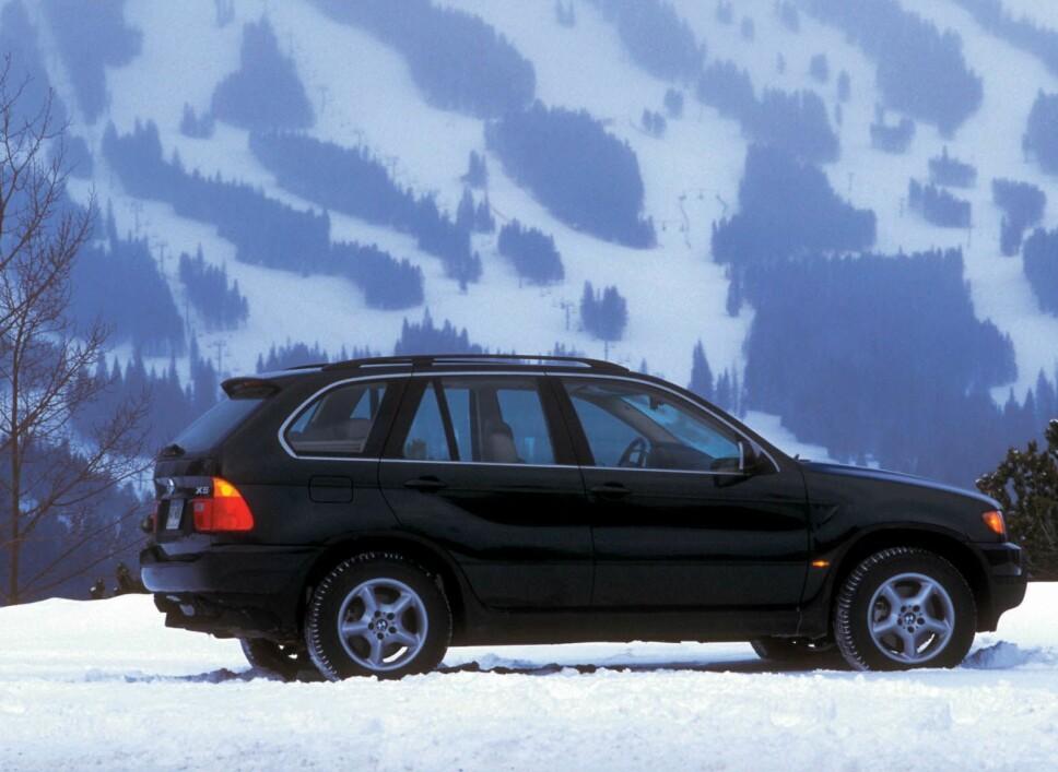 <b>BMW X5</b> var definitivt en uoppnåelig drømme-SUV for mange familier da den kom i 2000. Nå har den blitt billig bruktbil.