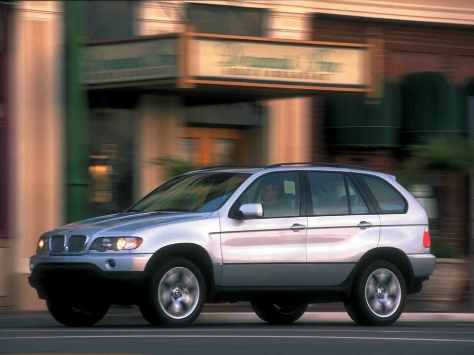 <b>NY SUKSESS: </b>X5 var BMW på en helt ny måte og suksessen uteble ikke.