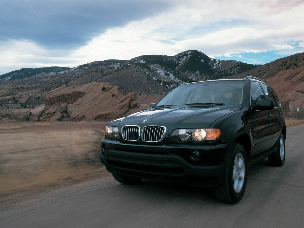 <b>BMW X5</b> var SUV-en som også taklet svingete landeveier.