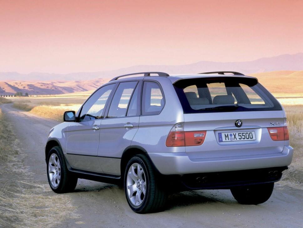 <b>USA VIKTIG MARKED: </b>BMW X5 ble bygget i USA, som også var ett av de viktigste markedene for bilen.