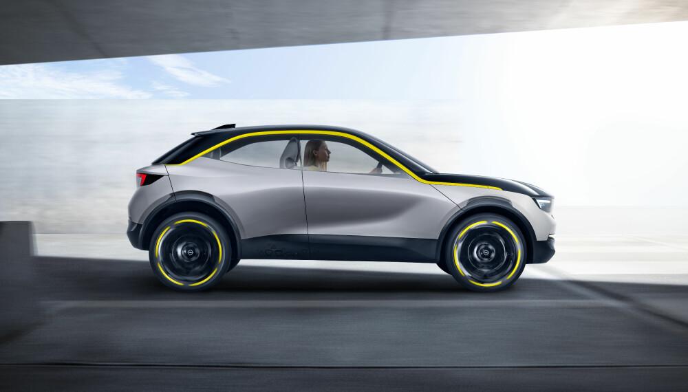<b>KOMPAKT: </b>Opel GT X Experimental er kompakt og minimalistisk.