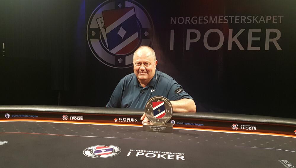 <b>NORGESMESTER</b>: LEid Eddy Iversen er ny norgesmester i deepstack.
