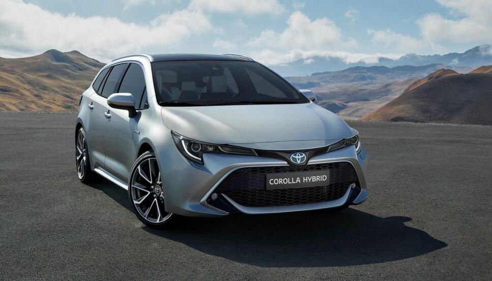 Toyota har blitt adskillig tøffere på design de siste årene, det merkes særlig godt i fronten på nye Corolla.