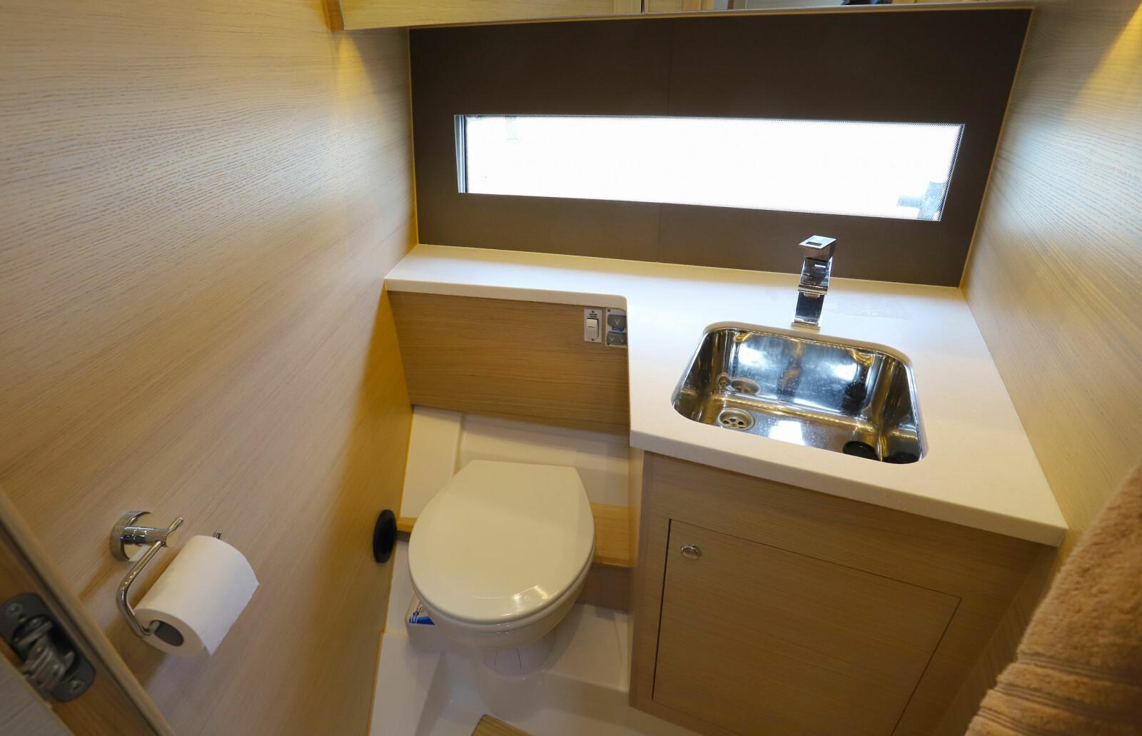 <b>EGEN AVDELING: </b>Skilsø 39 Panorama har separat toalett uten at løsningen kjennes for trang.