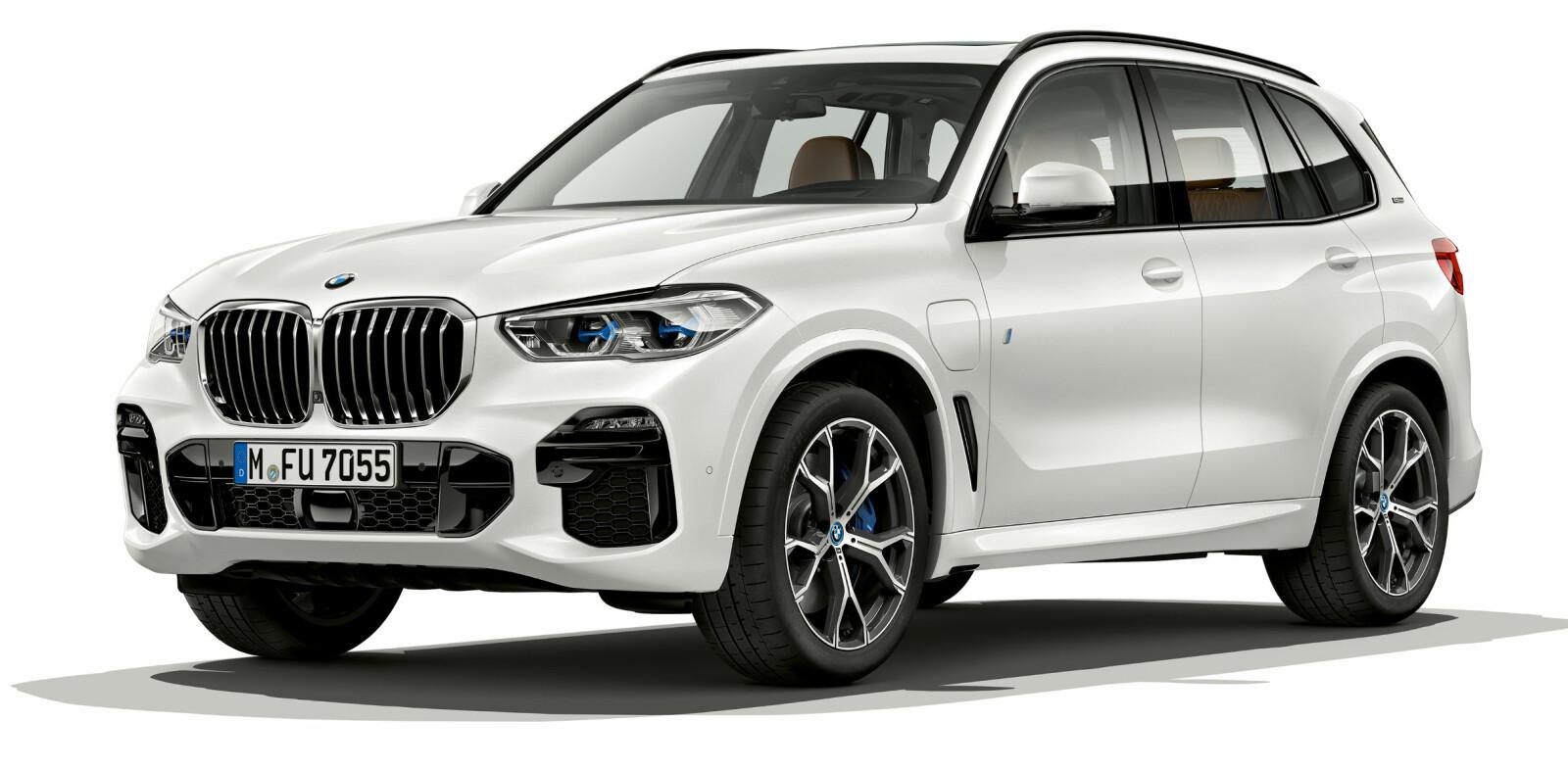 KOMMER NESTE ÅR: BMW X5 45e iPerformance er ventet neste år.