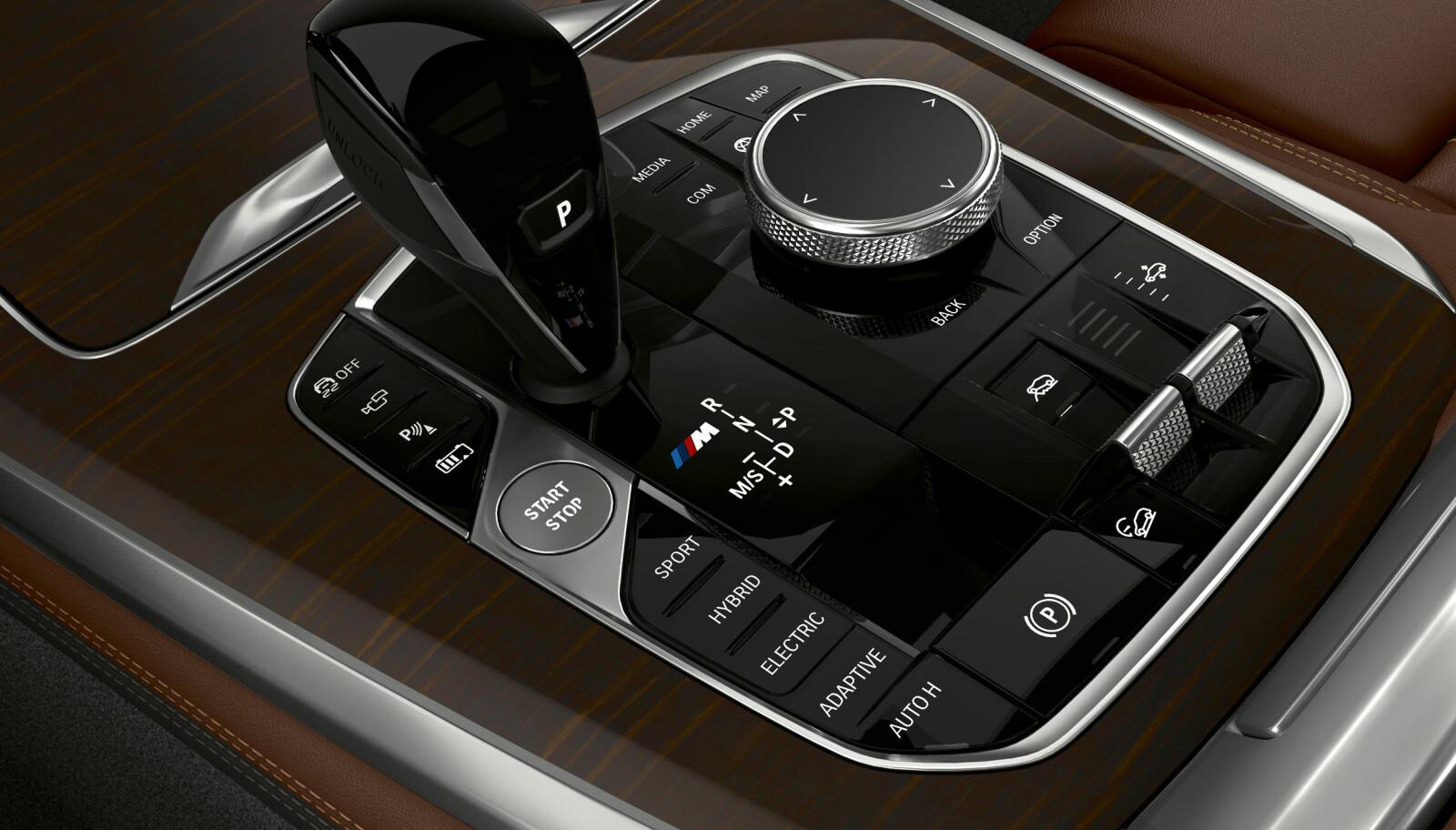 PROGRAM: Bilen har en rekke forskjellige kjøreprogrammer.