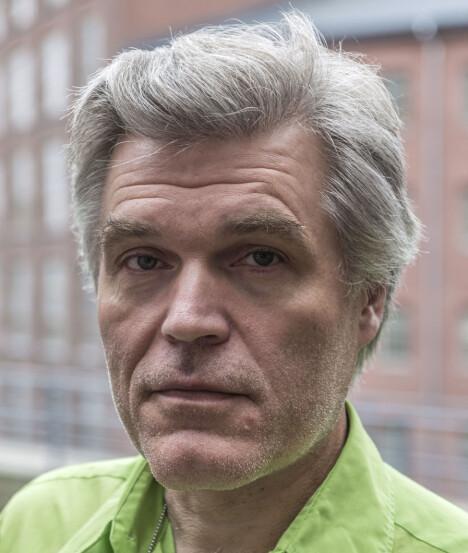<b>KURATOR</b>: Antti Liuttunen er kurator ved museumssenteret på det gamle fabrikkområdet i Tammerfors.