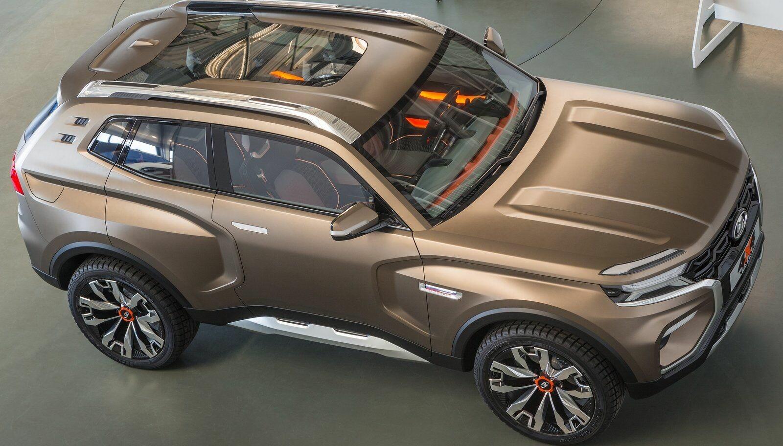 <b>LADA SUV: </b>Så tøff har du neppe sett en Lada før? For det er nemlig Lada som står bak dette konseptet som kan bli virkelighet i 2020.